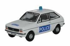 Oxford 76FF004 Ford Fiesta Mk1 Essex policía escala 1/76th = 00 calibre – T48