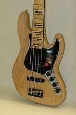 2016 USA Fender American Elite Jazz J Bass V 5 String w/CASE Ship World Unplayed