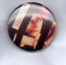SIOUXSIE AND THE BANSHEES BUTTON BADGE - ENGLISH ROCK BAND 25mm PIN - THE SCREAM