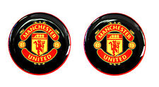 2 Football Stickers Auto Moto Car Laptop Bike Window Soccer FC Manchester United