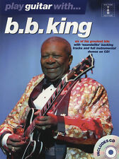 Play Guitar with BB King TAB Music Book & Play-Along Backing Tracks CD