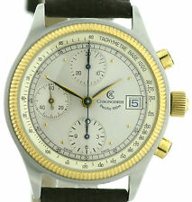 Chronoswiss Pacific Chronograph Stahl-Gold, Automatik Basis Kal. Valjoux 7750
