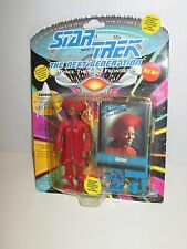 WHOOPIE GOLDBERG GUINAN STAR TREK NEXT GENERATION PLAYMATES ACTION FIGURE STTNG
