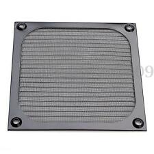 120mm Black PC Fan Cooling Dust Filter Case Cover Aluminum Mesh For Grill Guard