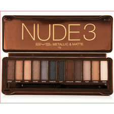 BYS NUDE3 Eyeshadow Palette 12 Shades,Naked Natural Eye Shadow - Sealed