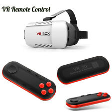 Newest VR BOX Virtual Reality 3D Glasses Bluetooth Remote Control For Smartphone