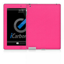iPad Skin (2nd & 3rd Gen) - Pink Carbon Fibre skin by iCarbons