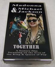 MADONNA & MICHAEL JACKSON - TOGETHER  - KING & QUEEN OF POP - VHS MINT SEALED!!