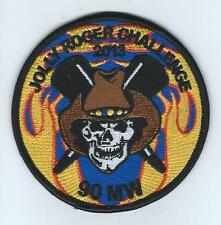 """90th MISSILE WING """"JOLLY ROGER CHALLENGE 2013"""" patch"""