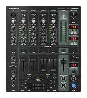 Behringer DJX750 mint 5-Channel DJ Mixer, Digital-FX, BPM, 3-band kill EQ