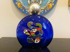 NIKI DE SAINT PHALLE SIGNED LARGE FACTICE COLLECTIBLE PERFUME BOTTLE 8.5""