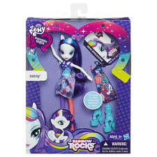 NEW My Little Pony Equestria Girls Rainbow Rocks Doll Figure 2 Outfits ☆ Rarity