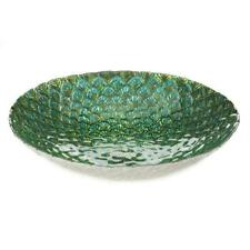 PEACOCK FEATHER DECORATIVE PLATE MASSIVE SALE LIMITED STOCK INCLUDES FREE POST