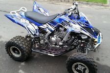 Yamaha Raptor 700 700R graphics 2013 2014 2015 custom kit #4444 Blue