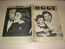 OGGI=1955/42=PUPETTA MARESCA=CITROEN DS 19=ALDO CAMPATELLI=VILLAGGIO BROLLO=2455