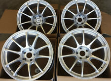 "18"" MiRO 563 Wheels For Subaru Impreza WRX Legacy STI JDM Advan RZ 5X100 Rims"