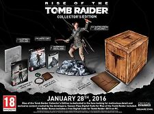 RISE OF THE TOMB RAIDER COLLECTOR'S EDITION PC DVD NEW PAL UK ENGLISH COLLECTORS