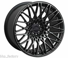 "XXR 553 17"" 8.25/9.25 5x100 5x114 CHROME BLACK WIDE RIMS ALLOYS WHEELS Z2802/04"