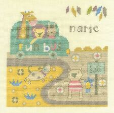 Dmc Baby parada de autobús Cross Stitch Kit