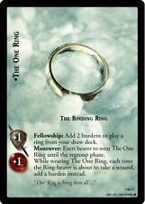 LOTR TCG Reflections 9R+1 The One Ring The Binding Ring Foil Card