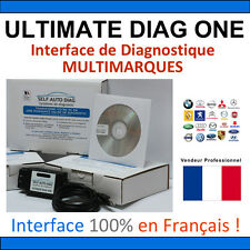 Valise Diagnostique PEUGEOT + MULTIMARQUES - ULTIMATE DIAG ONE AUTOCOM CAN CLIP
