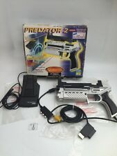 Coffret SEGA SATURN LOGIC 3 predator 2 PS 4003 s automatique virtua light gun