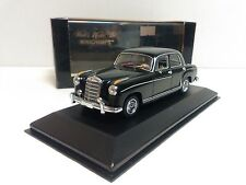 "Minichamps 1/43 Mercedes Benz 220 ""Saloon"" 1956/59 Black REDUCED PRICE!!!!!!!"