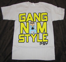 SMALL MENS GRAPHIC T-SHIRT PSY K POP KOREAN GANGNAM STYLE DANCE RAP MUSIC TEE!!!