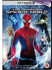 The Amazing Spider-Man 2 DVD Andrew Garfield New Sealed Original UK Release R2