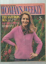 WOMAN'S WEEKLY 9 SEP 1972  KNITTING PATTERNS - LUCILLA ANDREWS - JANE ARBOR