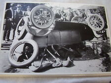 MODEL T FORD WRECK  12 X 18  LARGE PICTURE  PHOTO