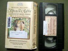 Rabbit Ears - The Velveteen Rabbit (1985, VHS) READ BY MERYL STREEP