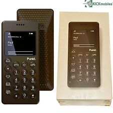 "BNIB PUNKT MP01 BROWN FACTORY UNLOCKED 2.0"" INCH MOBILE PHONE 2G GSM BOXED"