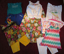 Gymboree & more clothing lot from floral reef and other lines size 10-12