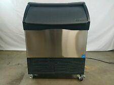 SCOTSMAN ICE MAKER MACHINE CU1526SA-1A On Casters - Tested - Nice See Pictures!!