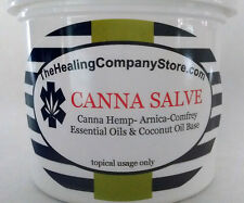 Canna Salve CBD Salve Hemp Cannib Sativa Pain Relief Salve 2 oz