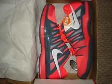 NIB Nike Federer ZOOM VAPOR 9 TOUR Tennis Shoes 488000-614 Atomic RED Size 12.5