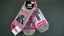 NEU STAR WARS 3 PAAR SNEAKER SOCKEN DARTH VADER R2-D2 37-42 Socks Primark