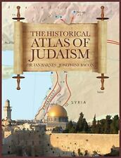 THE HISTORICAL ATLAS OF JUDAISM 400pp Maps & Charts BRAND NEW Shrinkwrapped
