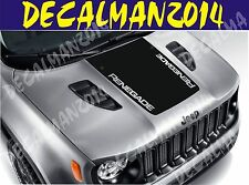 Jeep Renegade Blackout Vinyl Hood Decal 2015 2016 Style 1