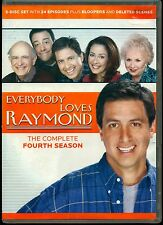 EVERYBODY LOVES RAYMOND THE COMPLETE FOURTH SEASON 5 DVD Ray Romano, Peter Boyle