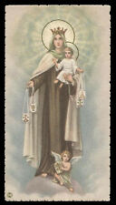 "santino-holy card""""ediz. NB*  n.6068 MADONNA DEL CARMINE"