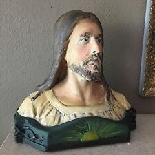 Antique Bust of Christ, c. 1880, Saint Joseph School, New Orleans