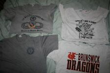 80S/90S VINTAGE HEATHER GRAY T-SHIRT LOT OF 4 MENS SIZES RETRO COLLECTION SOFT