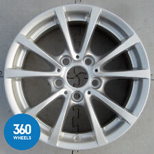 "GENUINE BMW 3 4 SERIES 16"" 390 7J V SPOKE SILVER ALLOY WHEEL F30 F31 F33 6796236"