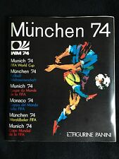Panini FIFA World Cup 1974 Munchen 74 Complete Stickers Set Album