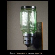Vintage Transparent Green Depression Glass WALL Mounting COFFEE DISPENSER