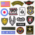 MILITARY PATCH SHOP - Any Patch £1.99 - Embroidered Iron-On, UK Stock, Free Post