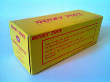 Boîte copie repro Dinky Toys 596 arroseuse balayeuse L.M.V. ( reproduction box)