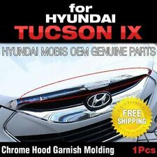 Mobis OEM Chrome Hood Point Garnish Molding For HYUNDAI 2010 - 2015 Tucson ix